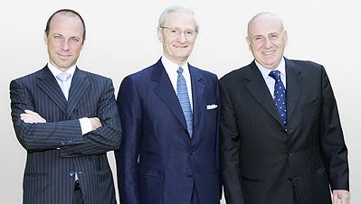 Giuseppe Lavazza, Alberto Lavazza, Gaetano Mele
